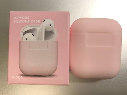 cheap for discount c9612 e1582 elago AirPods Silicone Case が届いたです。 | ・・ひとりごと(裏)・・